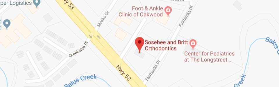 Sosebee & Britt Orthodontics in Oakwood GA