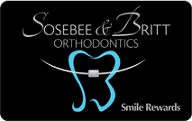 Sosebee & Britt Orthodontics - Reward Card